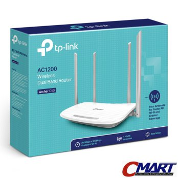 TP-Link Archer C50 : TPLink AC1200 Wireless Dual Band WiFi Router