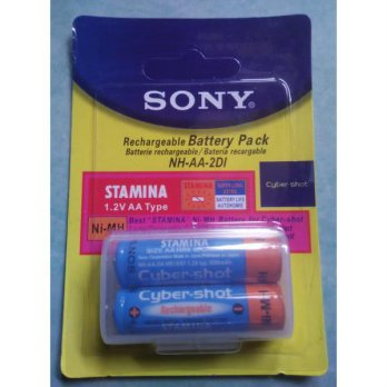 Rechargeable Battery Pack Batere Sony Stamina 1.2V AA Type 3000mAh