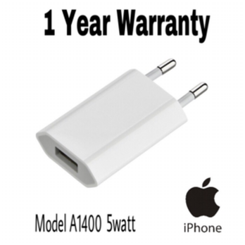 APPLE ADAPTER CHARGER MODEL A1400 5W FOR iPHONE