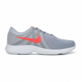 Sepatu Olahraga Senam Lari Gym Fitness Nike Revolution 4 Women's Run Shoes-Grey 908999012