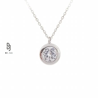 BE.JUU Kalung One More Love Korean Jewelry