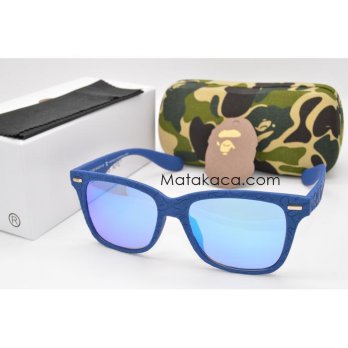 Kacamata Sunglass A Bathing Ape 6807 Blue