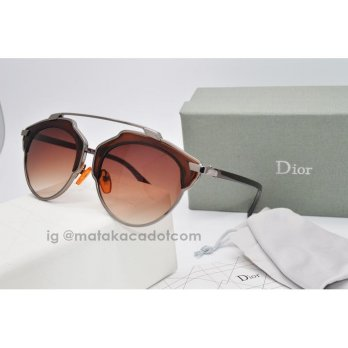 Kacamata Sunglass Dior So Real Biayi Coklat