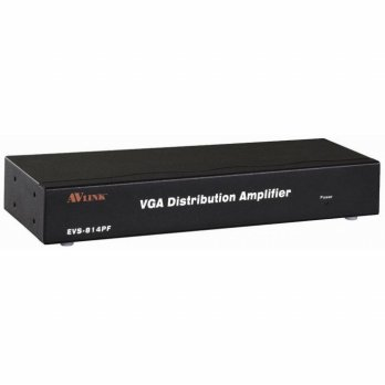 AVLINK EVS-814PF 1 RJ 45 input - 4 video+audio output, up to 300m