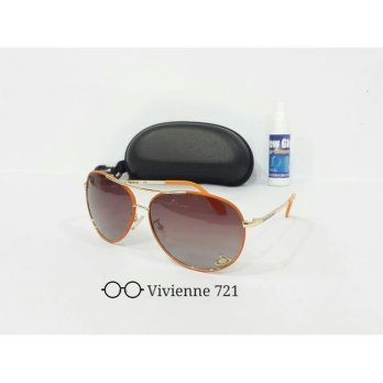Kacamata Sunglass ViVienne 721 Orange