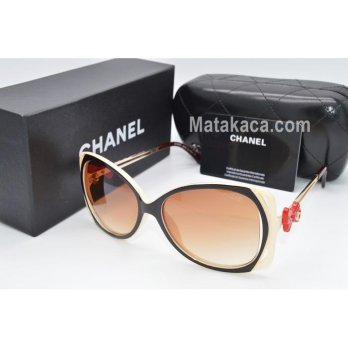 Kacamata Sunglass Chanel 5517 Coklat cream