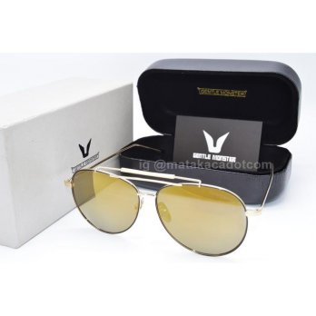 Kacamata Sunglass Gentle Monster 1866 Gold