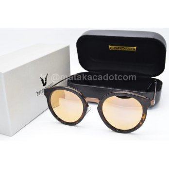 Kacamata Sunglass Gentle Monster 8181 Leopard Pink