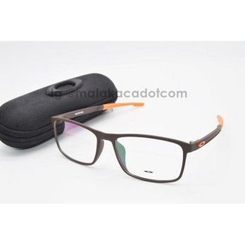 Frame Kacamata Frame O*kl*y Mileston 8047 Coklat Orange