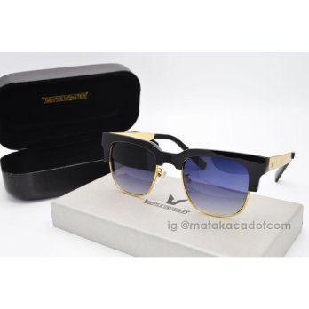 Kacamata Sunglass Gentle Monster 5123 Hitam Gold