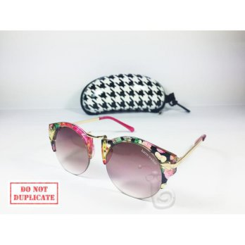 Kacamata Karen Walker arrow half frame Pink