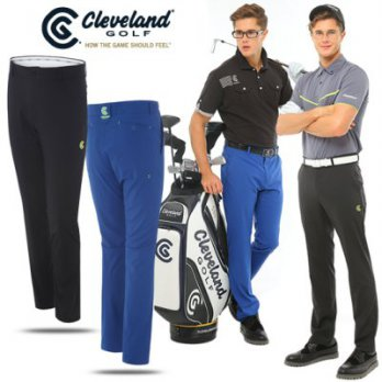 [Cleveland] cold rolled skin fluorescent color men's golf pants (CGK4MPT049B) / Golf Wear