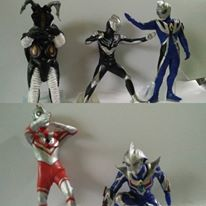 Ultraman Set 5 pcs (seri 3)