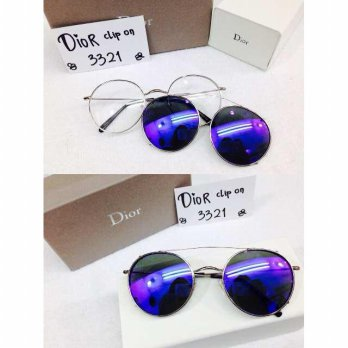 Kacamata Sunglass Dior 3321 Clip On Biru