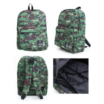 Backpack TONGA - Tas Ransel Motif Army Tentara