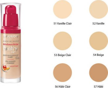 BOURJOIS HEALTHY MIX FOUNDATION VANILLA 52