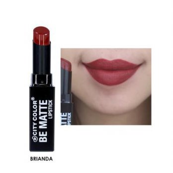 CITY COLOR BE MATTE LIPSTICK BRIANDA
