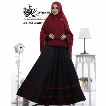 SALMA SET GAMIS SYAR'I BY LIL GORGEOUS