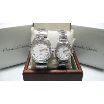 Alexandre Christie AC 5003 Silver Couple Edition