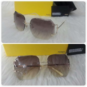 Kacamata Sunglass Fendi 5003 Cream