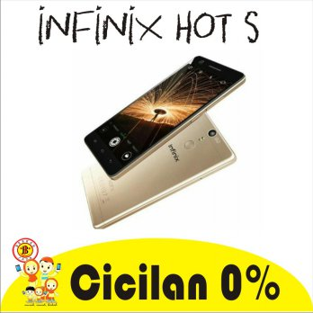Infinix Hot S PRO X521-3GB/16GB Fingerprint 13MP Garansi 1th