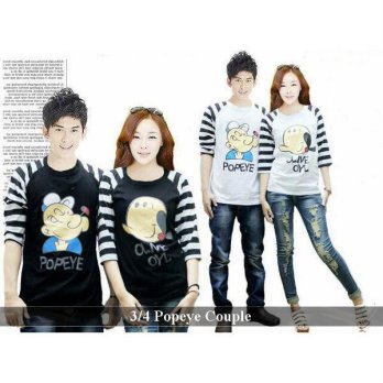 Kaos Couple Keren | Fashion Couple Unik | 34 Popeye