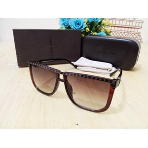 Kacamata Sunglasses LV (louis vuitton) 838 Coklat