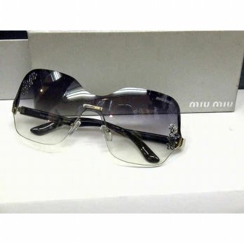 Kacamata Sunglass Miu Miu Flower Hitam BOX SLETING
