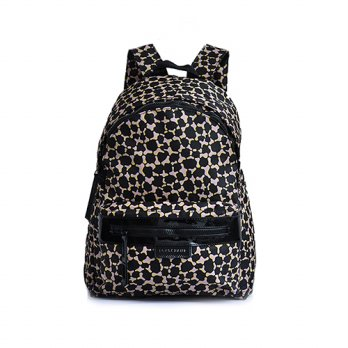 Tas Ransel Authentic Longchamp Neo Backpack Leopard Large