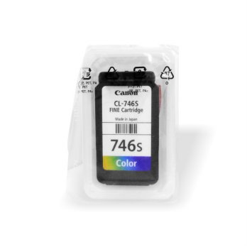 Jual Cartridge Original Canon CL-746S CL746S 746S Small Color Loose Pack, Tinta Printer Canon iP2870