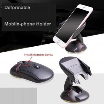 Brand New Universal Mouse Like One Touch Humanized Design Portable Phone Car Holder