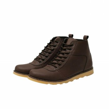 SEPATU BOOT MR JOE BARA-BROWN. UKURAN 39-43.