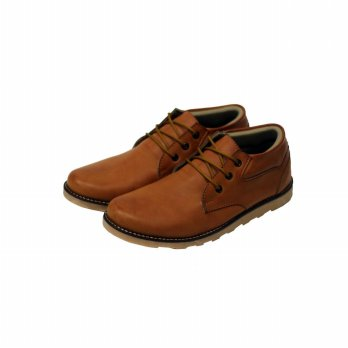 SEPATU BOOT MR JOE COLLE-TAN. UKURAN 39-43.
