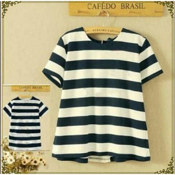 blouse stripy top