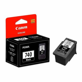 Jual Cartridge Original Canon Canon PG-740 PG740 740 Black, Tinta Printer Canon MX537 MX517 MX437