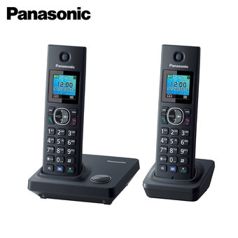 Panasonic Cordless Phone KX-TG7862 - Telephone 2 Handset Speakerphone Colour