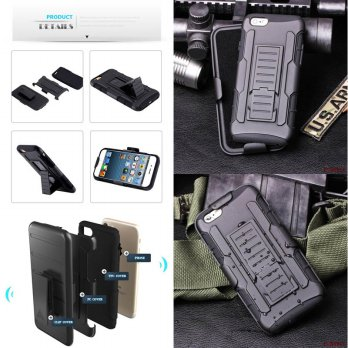 Belt Armor Case iPhone 6 - 6S