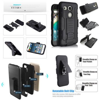 Belt Armor Case LG Nexus 5X