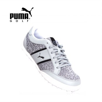 [Puma] Mono Light Cat Women's Mesh Golf Shoes 189172-02 / barang asli / Peralatan Golf