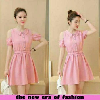Dress Liana Pink XL-HSI