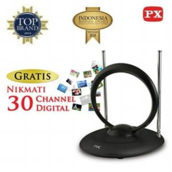 Antena TV Dalam Digital Indoor Antenna PX IA-200N