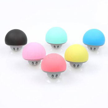 [globalbuy] Bluetooth Portable Mushroom Mini Speaker with Mic Suction Cup Stereo Subwoofer/3779627