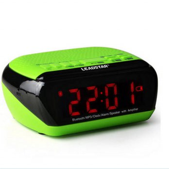 [globalbuy] Leadstar Portable Wirelss Alarm Clock Bluetooth Speakers Hands-free Calls LCD /3779634