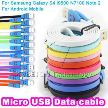 [globalbuy] LED Micro USB Cable 5 Colors Beautiful Light Durable Micro usb Charger Data Sy/3779610