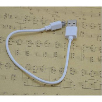 [globalbuy] 2Pcs White Micro Usb Cables Sync Data Charger Cable Line Microusb Cables For A/3779602