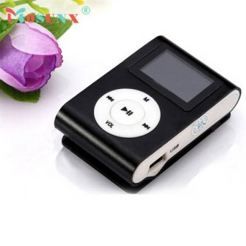 [globalbuy] Hot-sale MOSUNX Mini USB Clip MP3 Player LCD Screen Support 32GB Micro SD TF C/3779484
