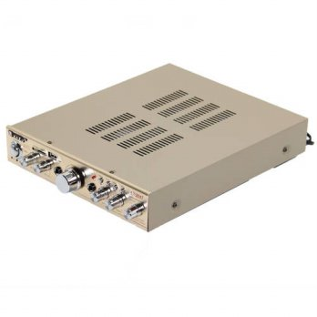 [globalbuy] DHL/FEDEX/EMS Shipping Gold Plated USB SD MMC Home Karaoke Audio Amplifier Sup/3779525