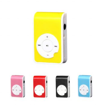 [globalbuy] Binmer Mini Clip Metal USB MP3 Player Support Micro SD TF Card Music Media Fac/3779489
