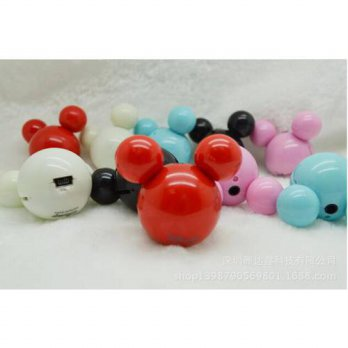 [globalbuy] Fashion Accessories Mickey MP3 mini MP3 player with micro TF/SD card slot Love/3779486