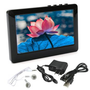 [globalbuy] New Black 4.3 MP4 Player USB 2.0 HD Definition Touch Screen 8GB MP4 Player Dig/3779452